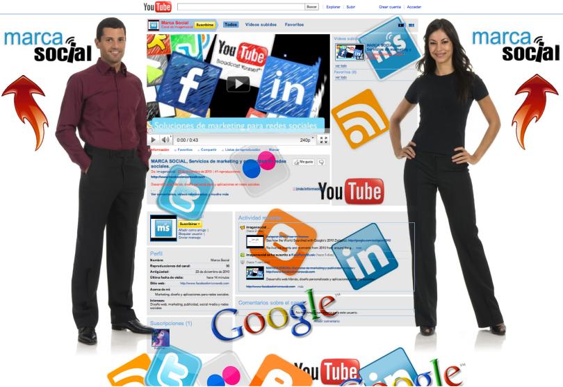 Diseño web+Marketing con videos + publicidad en redes sociales