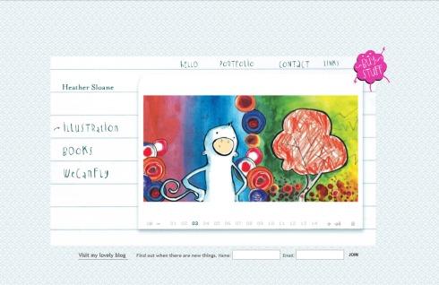 imaginativos y unicos diseños para paginas web