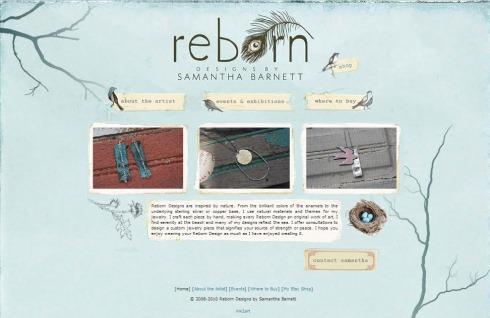 delicado y minimalisto diseño web