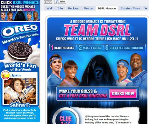Marketing en Social Media de Oreo